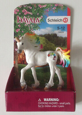 Spielzeugfigur Regenbogeneinhorn Fohlen Einhorn Unicorn Schleich 70525 Bayala