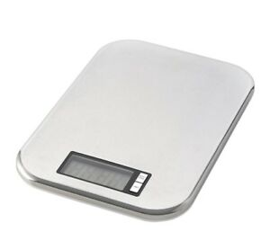 axentia-digitale-Kuechenwaage-Waage-Edelstahlwaage-bis-5kg-Neu