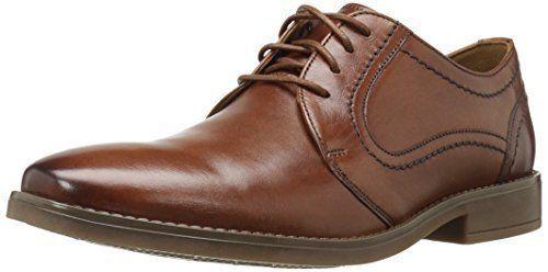 Clarks Mens Garren Fly Oxford Tan leather Shoes UK 7 EU 41 G Fit LN22 14