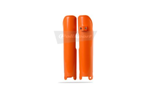 KTM Fork Protectors Guards SX SXF EXC EXCF 2003-2007 Orange Polisport Moto X