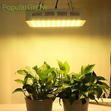 PopularGrow 300W Full Spectrum  LED Grow Light For Veg Bloom Indoor Plant Growth
