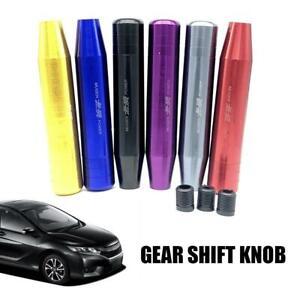 Long-Aluminum-Gear-Shift-Shifter-Knob-Universal-For-Manual-Transmission-Stick