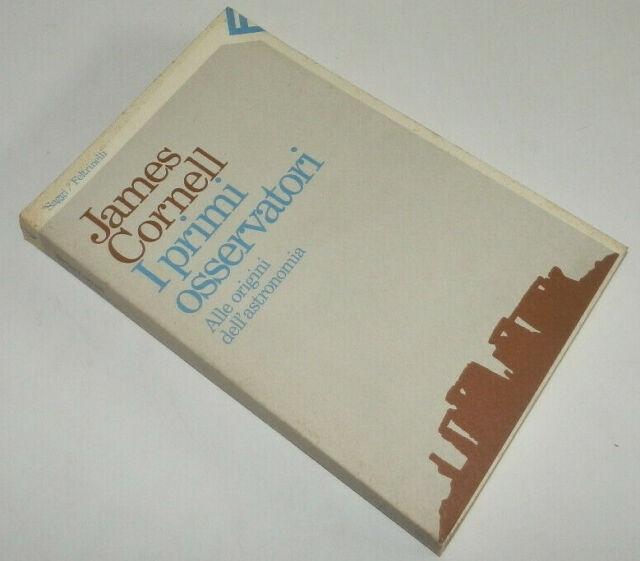 James Cornell I PRIMI OSSERVATORI Feltrinelli 1983