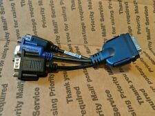 Cisco UCS KVM Dongle Cable Network CAT5 Adapter 37-1016-01 VGA USB DB9 Serial