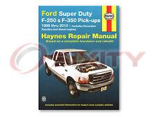 Ford F-250 Super Duty Haynes Repair Manual Lariat XL FX4 XLT Cabela's King ok