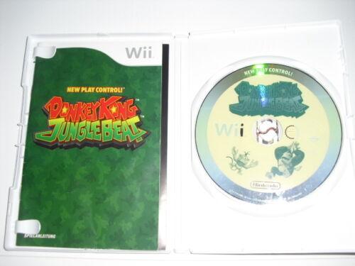 1 von 1 - Donkey Kong Jungle Beat (Nintendo Wii, 2009, DVD-Box)