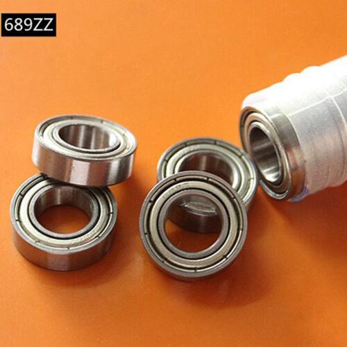 10Pcs Miniature Ball Bearings 681 682 683 684 685 686 687 688 689ZZ Type