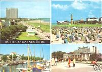 AK, Rostock Warnemünde, vier Abb., 1972