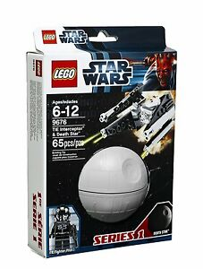 LEGO-Star-Wars-9676-TIE-Interceptor-Death-Star-Todesstern-Planet-Kugel