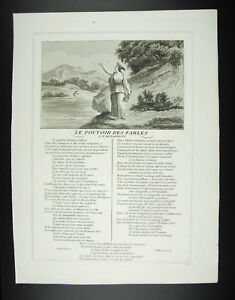 The-Power-Of-Fables-of-Barillon-Ambassadeur-de-France-Jean-From-La-Fontaine-1834
