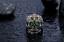 Anello-Massiccio-Fascia-Uomo-Donna-Unisex-Acciaio-Inox-Steel-Teschio-Skull-Punk miniatura 3
