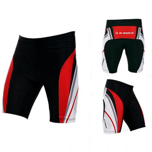 Pro Mens Cycling Shorts Road Bike Apparel 3D Padded Biking Clothing Tights Red