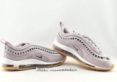 Women's Nike Air Max 97 Ultra '17 SI SIZE 11 AO2326 600 Retro Rose White Gum 826218063770 | eBay
