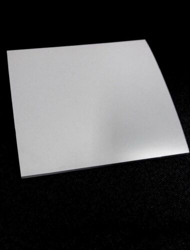 """Silicone Rubber Sheet 1//4/'/'Thk x 4/"""" x 8/"""" Rect Pad US Mil Spec 60 Duro Gray"""