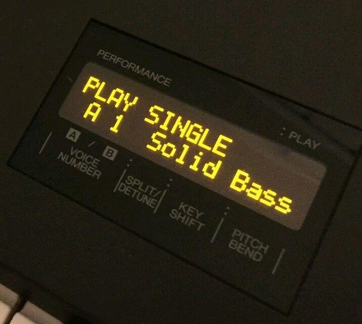 Yamaha DX7 - DX9 - DX11 - DX21 OLED Display
