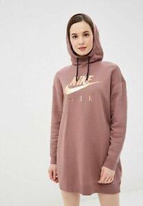 temor Suposición espiral  NIKE Sweat à capuche Robe femme Sportswear Air Hoodie Os - XXL – FR 54 56  Neuf | eBay