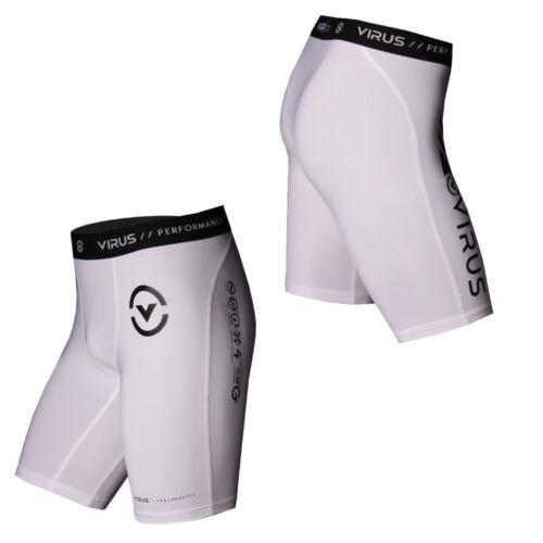 BJJ Co7 Crossfit Wrestling Virus Men/'s Stay Cool Compression Shorts MMA