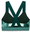 thumbnail 2 - Brooks-Hot-Shot-Moving-Comfort-Teal-Forest-Women-039-s-Sports-Bra-Size-XS-1805
