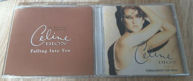 Celine Dion - Falling Into You 1 Track UK PROMO Cd Single + Bonus Remix CD Dream