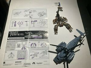 Transformers G1 Blackout and Scorponok Combiner with Instructions Lot