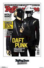 DAFT PUNK ~ SECRETIVE 22x34 MUSIC POSTER RS Tron Legacy Bangalter Homem-Christo