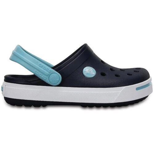 NEW Boy/'s Kids' Crocs Crocband II Kids Youth Navy 11990-4GT