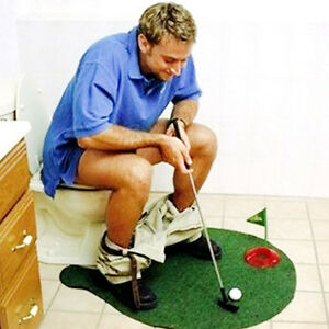 Image Is Loading Bathroom Toilet Mini Golf Game Potty Putter Novelty
