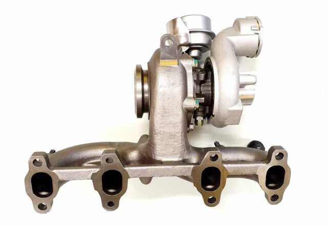 Turbocompresor VW T5 Transporter 1.9 TDI BRR BRS (con señor agujero) nuevo Mahle