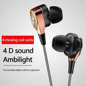 HIFI-Earphone-Dual-Driver-Headset-Sport-Stereo-Headphone-Super-Bass-Music-Earbud