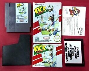 Kick-Off-NIntendo-Nes-8-Bits-USADO-MUY-BUEN-ESTADO