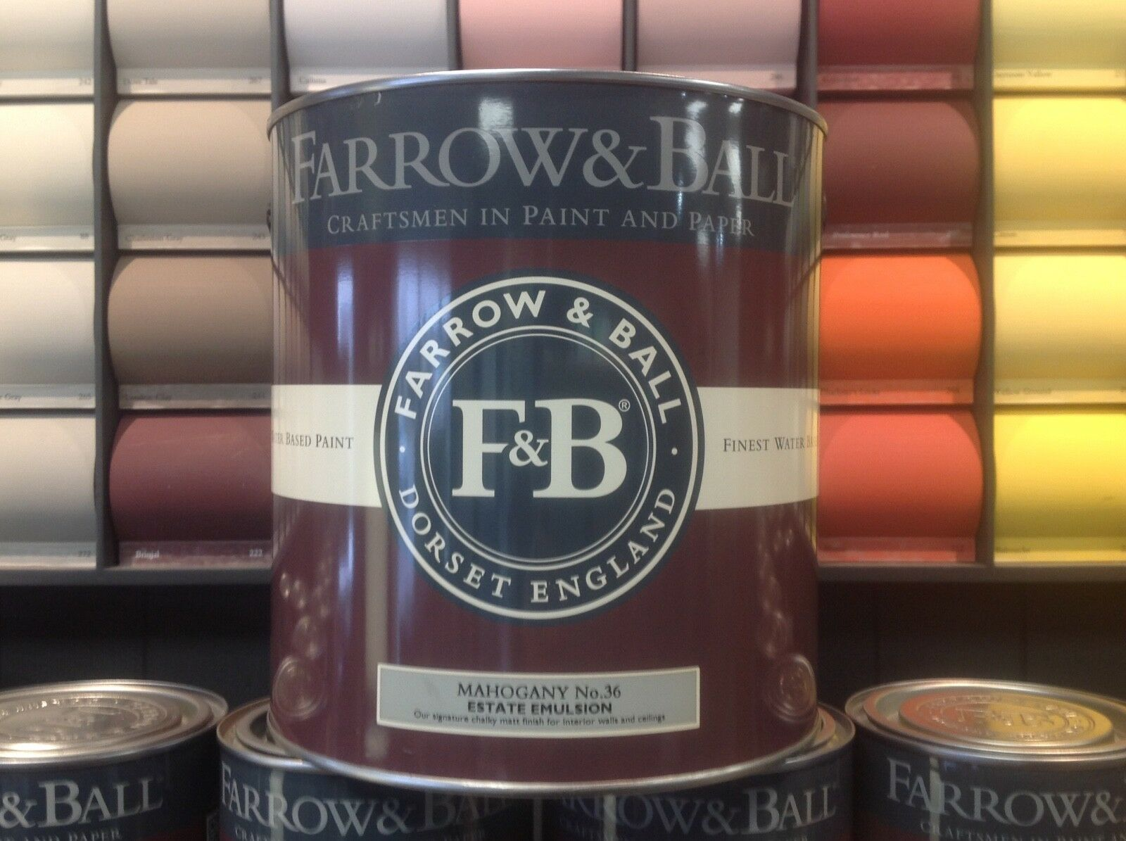 Paint Sale Farrow & Ball Estate or Modern Emulsion Interior Finishes
