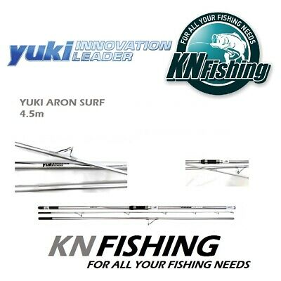 KP3829 Yuki Sea fishing rod Surfcasting Aron Surf 420 reel Trabucco