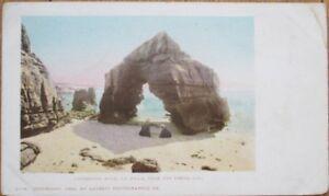 La-Jolla-San-Diego-CA-1903-Postcard-Cathedral-Rock-California-Cal