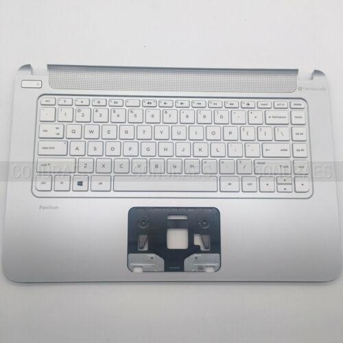 US 95 New For HP Pavilion 14-V 14Z-V Palmrest W//Keyboard 767264-001 773715-001