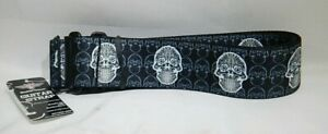 Buckle-Down-Guitar-Strap-Skulls-2-034-Wide-29-54-034-Length-T3