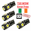 4x-Canbus-LED-Error-Free-T10-6000k-HID-White-W5W-Bulbs-Side-Parking-Lights-12V thumbnail 1