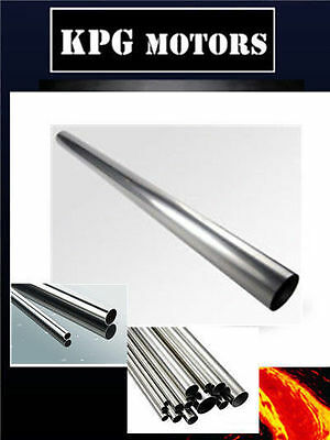 1 x 304 stainless steel STRAIGHT PIPE/TUBE 2 INCH - L = 1.2 METER /WALL = 1.6 MM