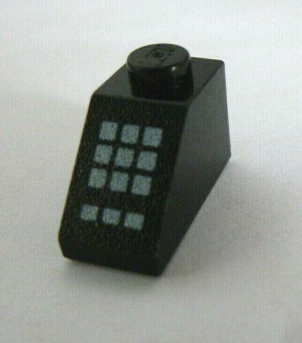 1 x LEGO® 50344 Systemstein,Sonderstein Kassenstein schwarz bedruckt.