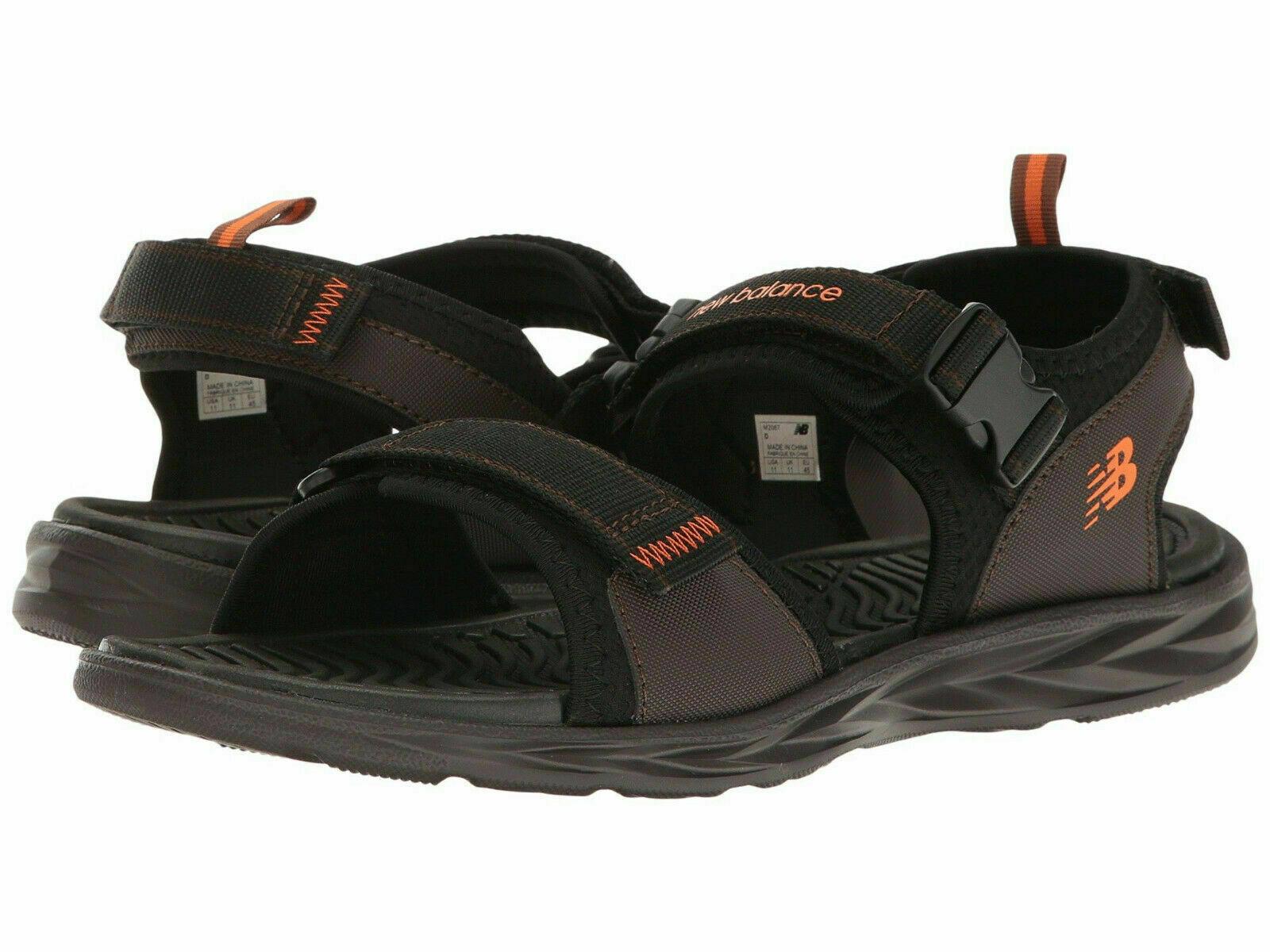 Hommes New Balance Response réglable Sandale M2067BR marron 100% Authentique Neuf