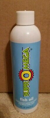 New 8oz Bottle Of Dinovite Supromega Fish Oil A Dog Cat Supplement W Vitamin E Ebay