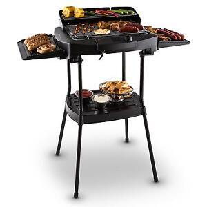 Barbecue Bbq Elettrico Montaggio Supporto Bistecchiera Griglia Esterna Giardino