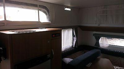 Jayco Caravan, pop top, clear roof skirt/sleeve, windows, set of 4
