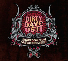 Dirty Dave Osti Shakedown on Salvation Street CD 2013 Ships From Sweden