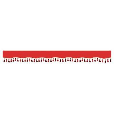 Capaz Oscura, Fascia Parasole Per Camion - Rosso Ganancia PequeñA