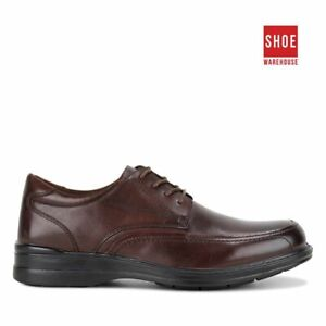 Hush Puppies TORPEDO Brown Mens Lace-up Dress/Formal Leather Shoes