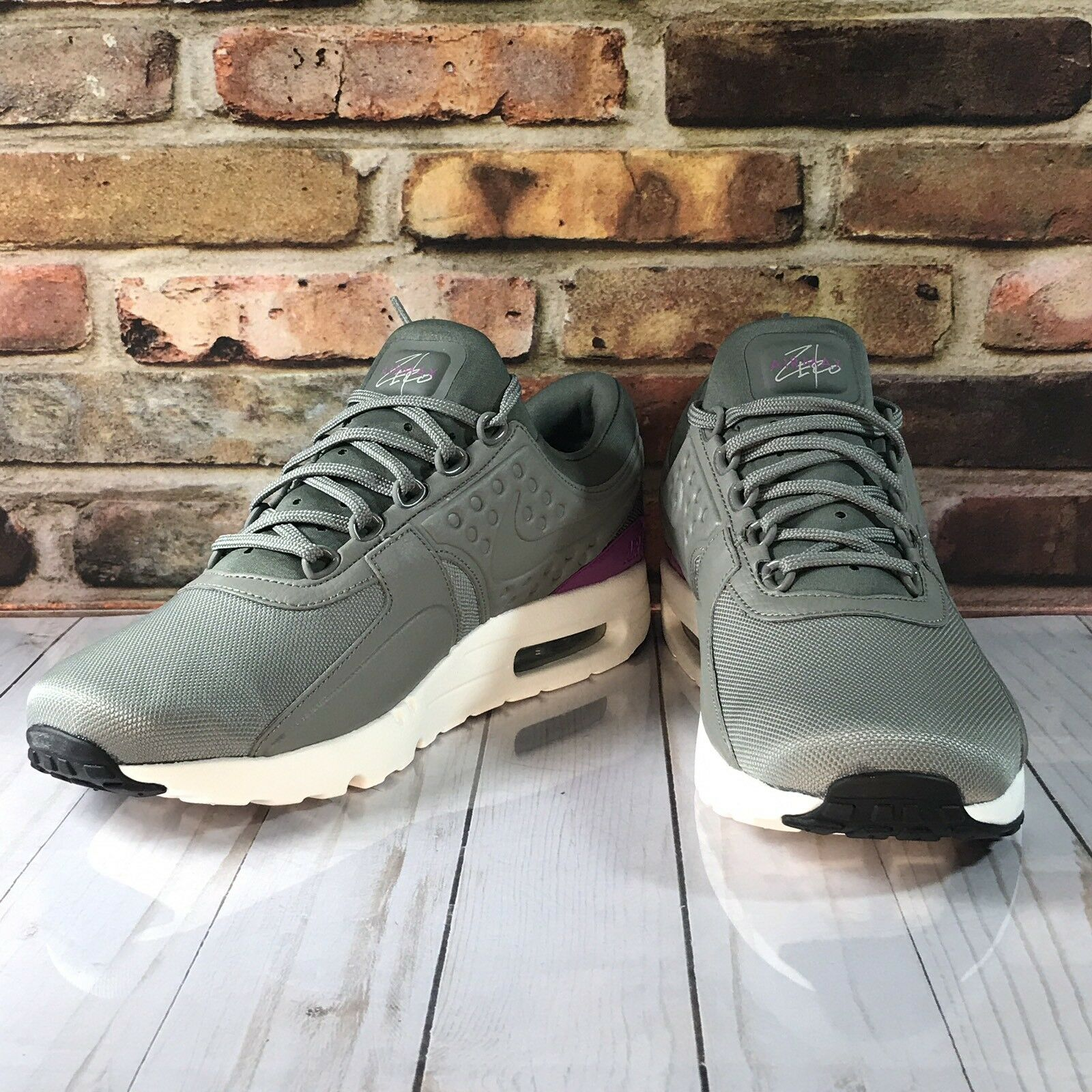 Nike Air Max ZERO PREMIUM  Size Size Size 9 881982 004  Grey Retro Running shoes 2017 33e9bc