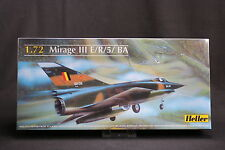 YR030 HELLER 1/72 maquette avion 80323 Mirage III E/R/5/ BA