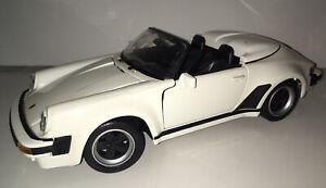 Maisto-Special-Edition-1989-Porsche-911-Speedster-Die-Cast-1-18-Coche-Deportivo