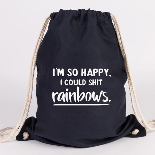 "Juniwords turn BUSTINA motivo /""I /'m così Happy I could Shit Rainbows/"" verdetto di Borsa"