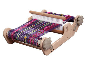 SAMPLEIT25-RIGID-HEDDLE-WEAVING-LOOM-25-24cm-weaving-width-NEW-from-Ashford-w-w